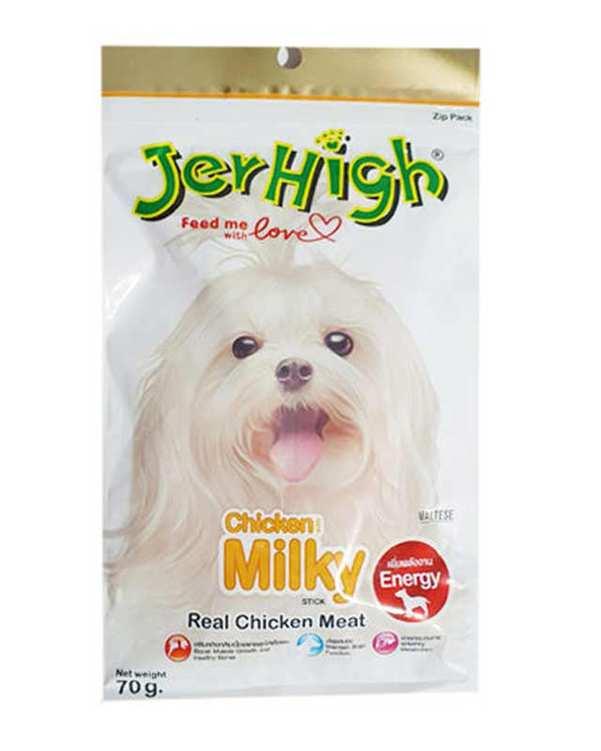 تشویقی سگ مدل 70gr Milky جرهای