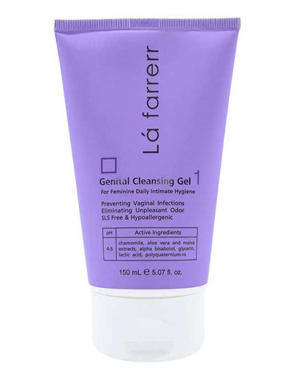 ژل شستشوی بهداشتی بانوان مناسب قبل از دوران یائسگی Genital Cleansing Gel 1 لافارر