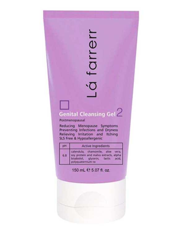 ژل شستشوی بهداشتی بانوان مناسب دوران یائسگی Genital Cleansing Gel 2 لافارر