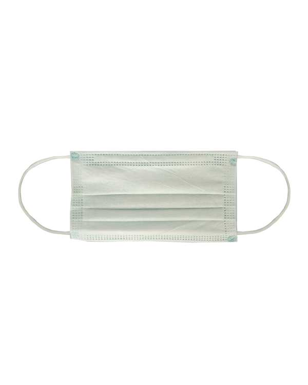 بسته 50 عددی ماسک تنفسی 4 لایه پزشکی سبز