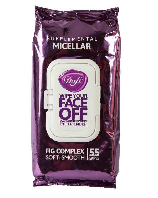 بسته 55 عددی دستمال مرطوب پاک کننده آرایش Micellarدافی