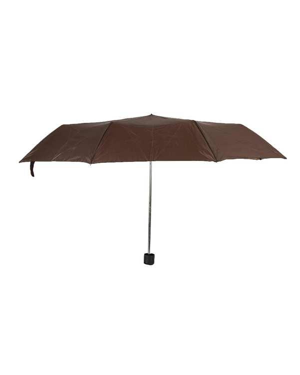چتر قهوه ای تیره مو