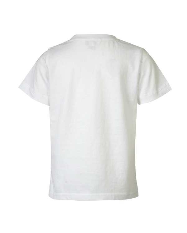 تی شرت پسرانه نخی یقه گرد سفیددودیپتو