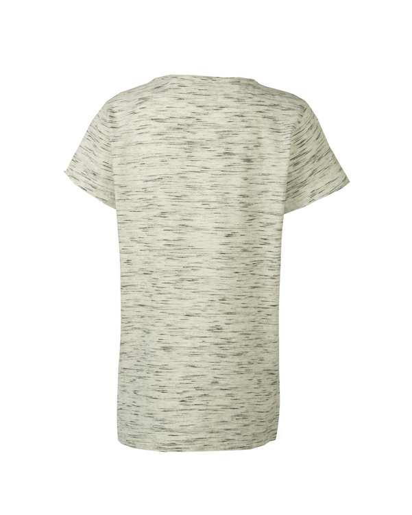 تی شرت دخترانه نخی یقه گرد استخوانی نکست