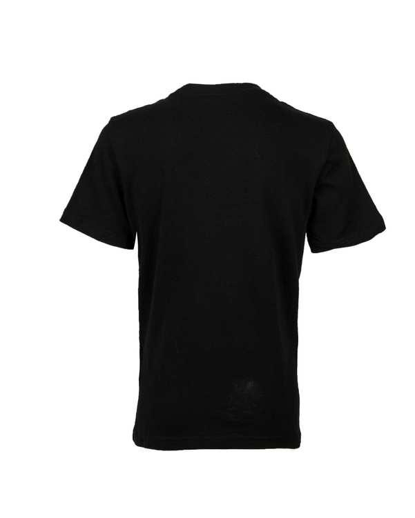 تی شرت پسرانه نخی یقه گرد مشکی جمو