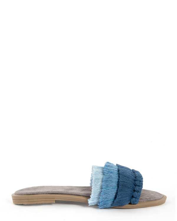 صندل زنانه مکرومه آبیسورا