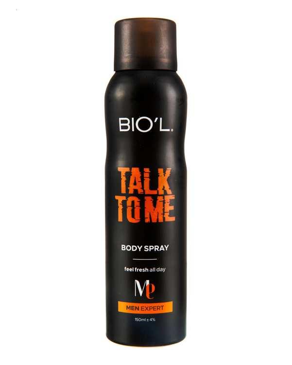 اسپری بدن مردانه مدل 150ml Talk To Me بیول