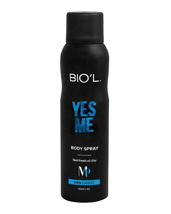 اسپری بدن مردانه مدل 150ml Yes Me بیول