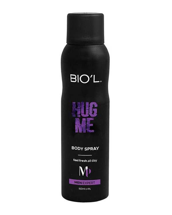 اسپری بدن مردانه مدل 150ml Hug Me بیول