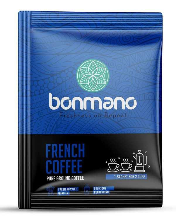 قهوه فرانسه بن مانو بسته 8 عددی