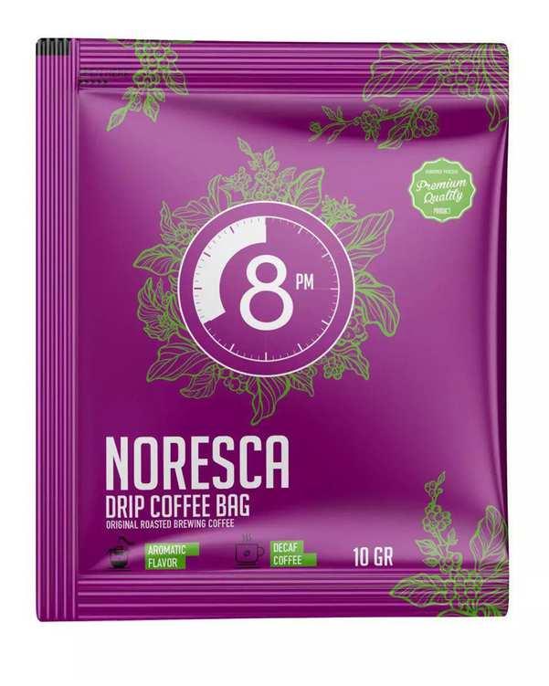 پودر قهوه نورسکا 8 شببن مانو بسته 6 عددی