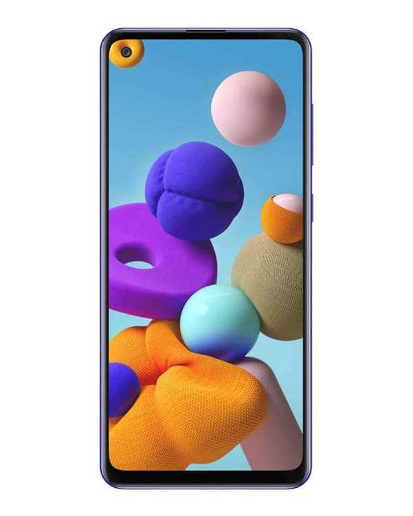 گوشی موبایل سامسونگ دو سیم کارت Galaxy A21S ظرفیت 64 گیگابایتسفید