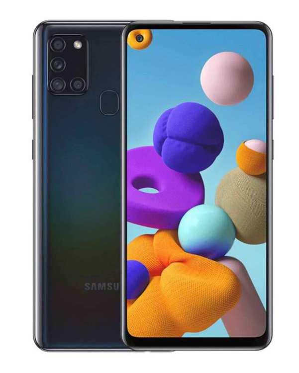 گوشی موبایل سامسونگ دو سیم کارت Galaxy A21S ظرفیت 64 گیگابایتمشکی