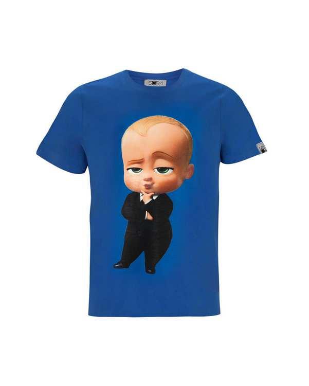 تی شرت پسرانه نخی طرح Boss Baby سورا
