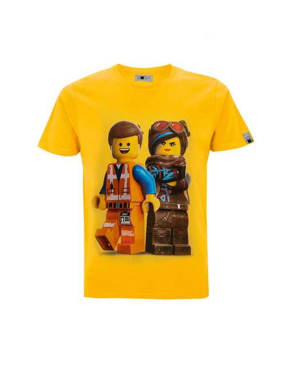 تی شرت بچگانه نخی طرح Lego Movie سورا