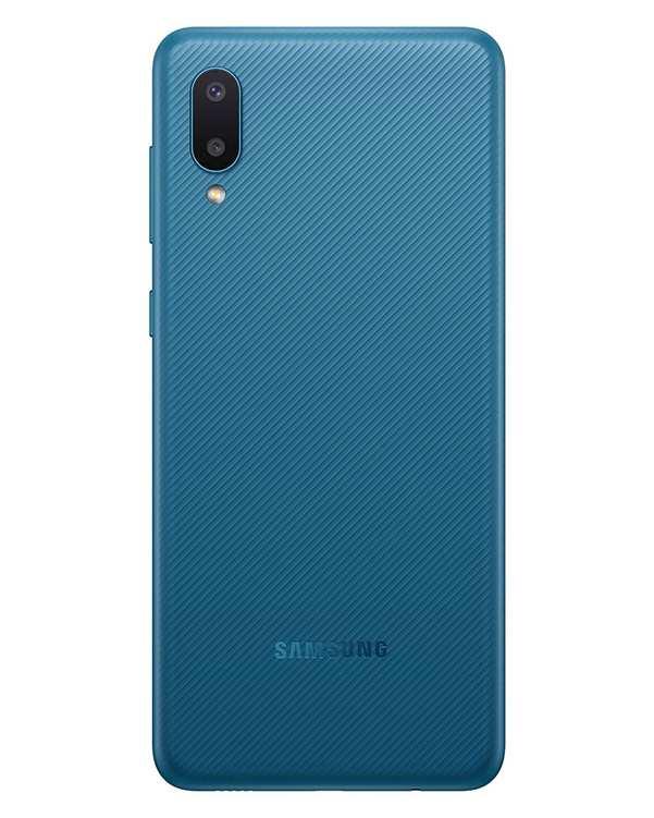 گوشی موبایل سامسونگ مدل Galaxy M02 دو سیم کارت ظرفیت 32 گیگابایت آبی