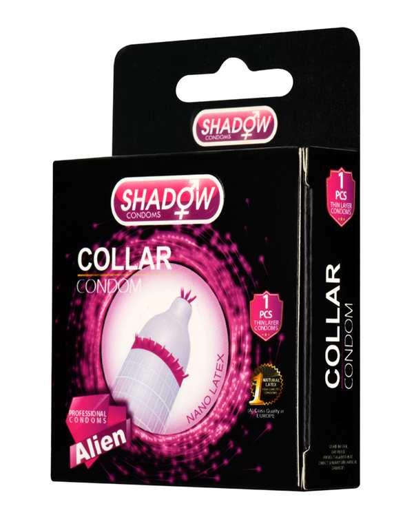 کاندوم فضایی طوقی مدل Collar شادو
