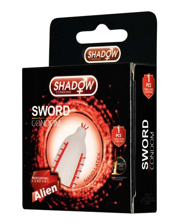 کاندوم فضایی شمشیری مدل Sword شادو