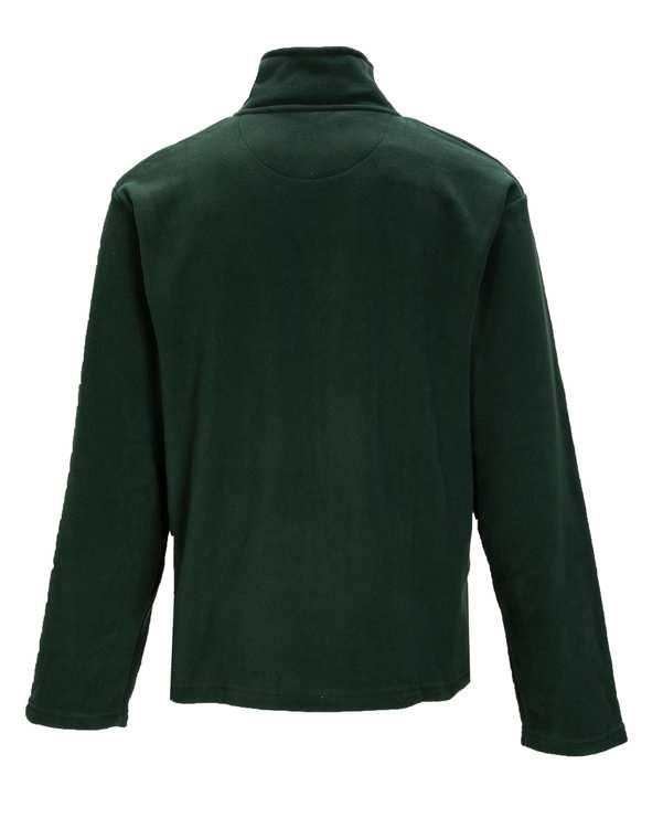 سویشرت مردانه یقه ایستاده سبز تیره مو