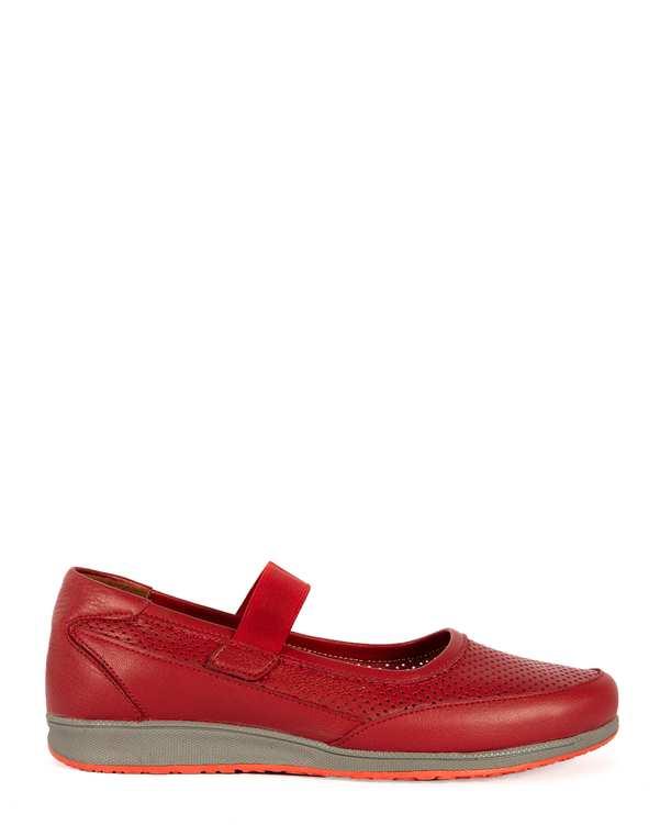 کفش چرم زنانه کژوال ابت