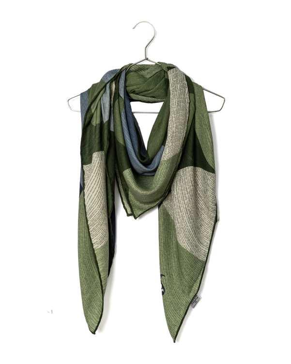 روسری زنانه پاییزه دست دوز پیسلی
