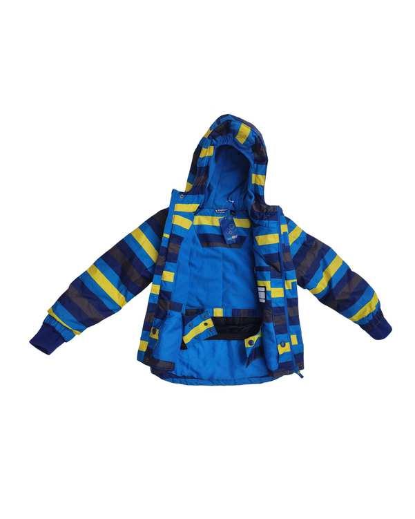 کاپشن پسرانهشمعی آبی سرمه ای لوپیلو