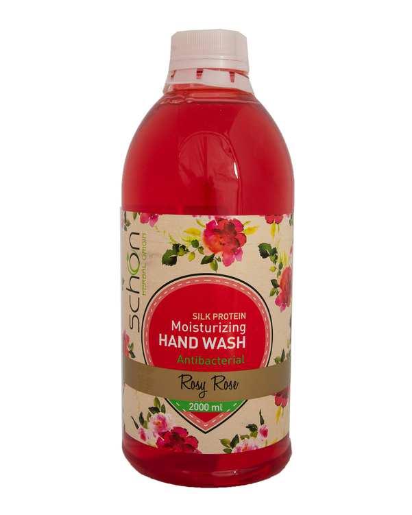 مایع دستشویی آنتی باکتریال Rosy Roseقرمز شون