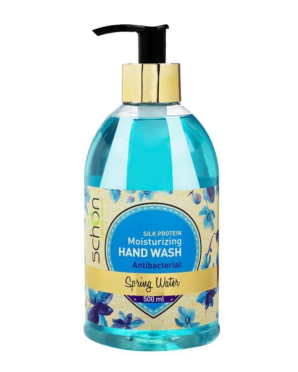 مایع دستشویی آنتی باکتریال Spring Water آبی شون