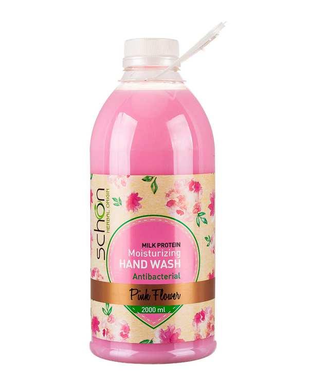 مایع دستشویی آنتی باکتریال کرمی Pink Flower صورتی شون