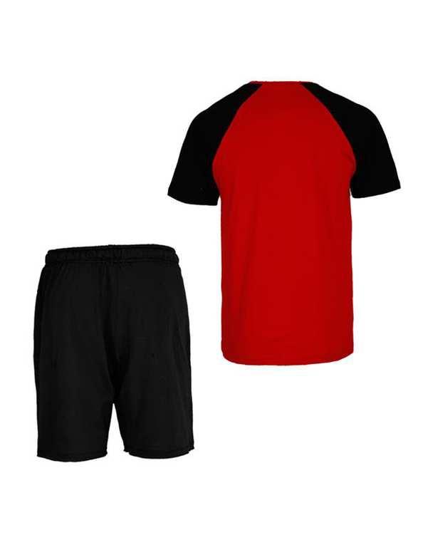 ست تی شرت و شلوارک راحتی مردانه RNS
