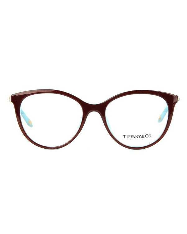 عينک طبي زنانه زرشکی آبی TF2134 Tiffany & Co