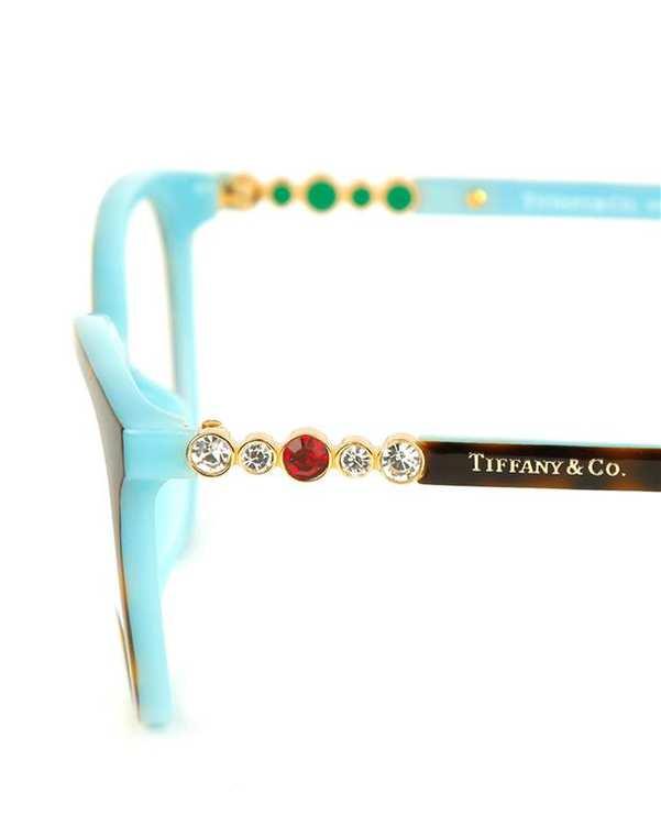 عينک طبي زنانه قهوه ای لاکی TF2134 Tiffany & Co