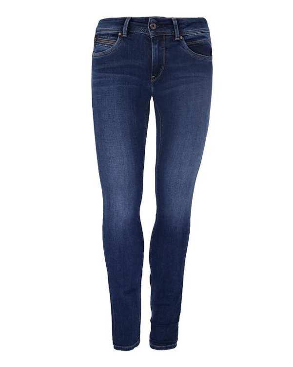 شلوار جين کشی زنانه آبی Pepe Jeans NEW BROOKE