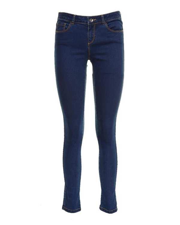 شلوار جین زنانه آبی تیره Everyday Basic