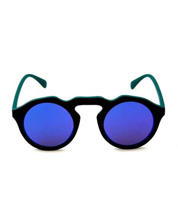 عینک آفتابی زنانه مشکی سبز Enrique