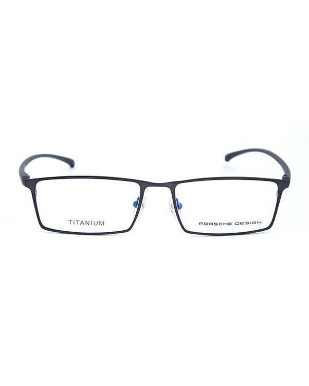 عینک طبی مستطیلی نقرهای Porsche Design