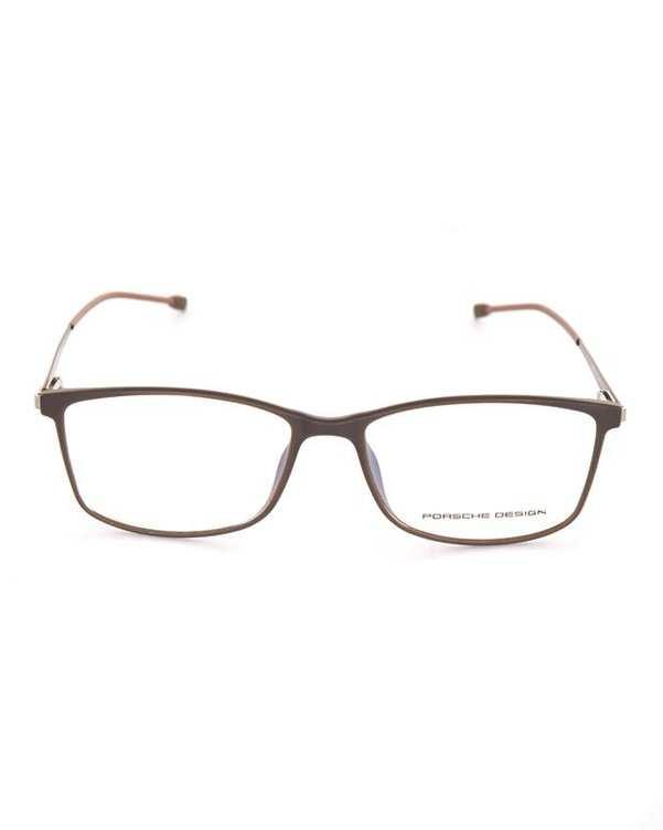 فریم عینک مستطیلی قهوهای Porsche Design