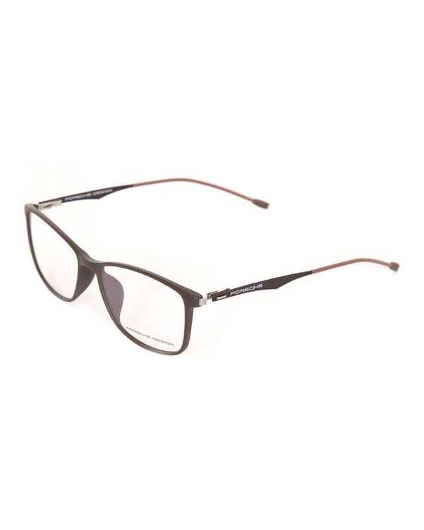 فریم عینک طبی مستطیلی قهوهای Porsche Design