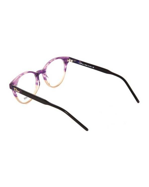 فریم عینک طبی زنانه گرد بنفش Dior