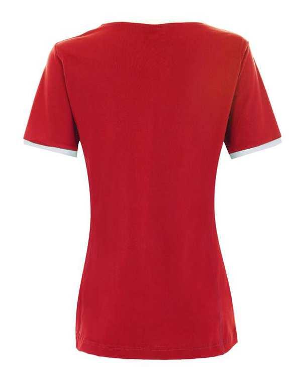 تی شرت تیم ملی زنانه قرمز ایران ناسیونال