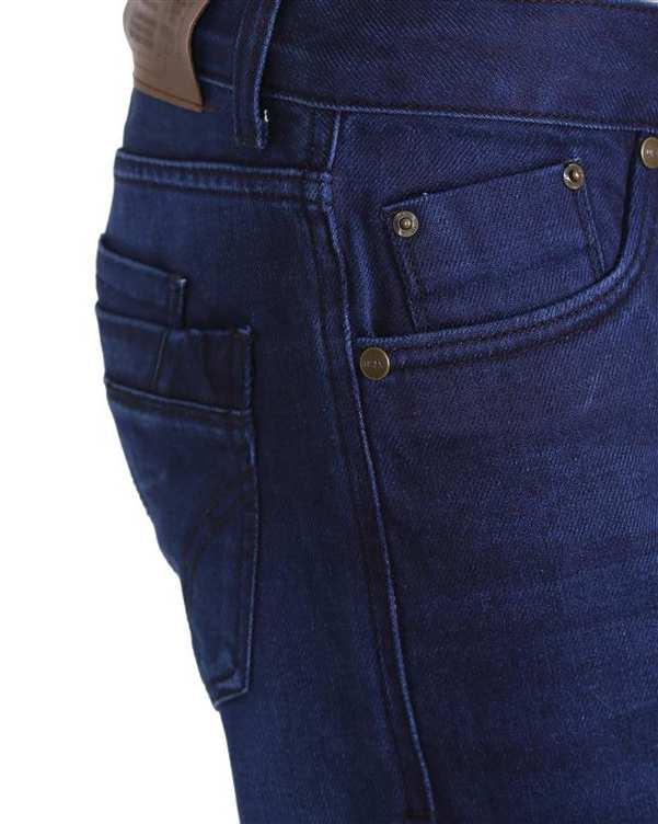 شلوار مردانه جین سرمه ای تیدا