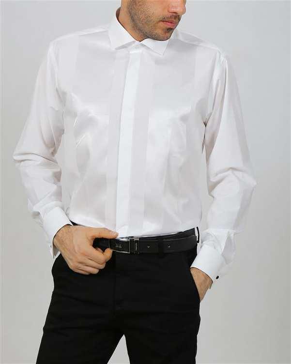 پیراهن مردانه سفید Young River