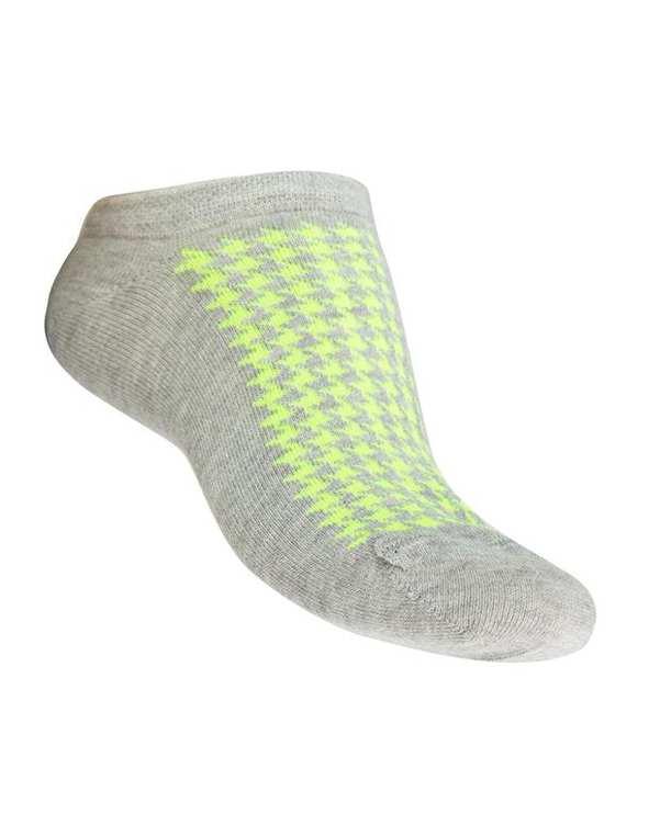 جوراب زنانه مچی طوسی فسفری فرخ رخ