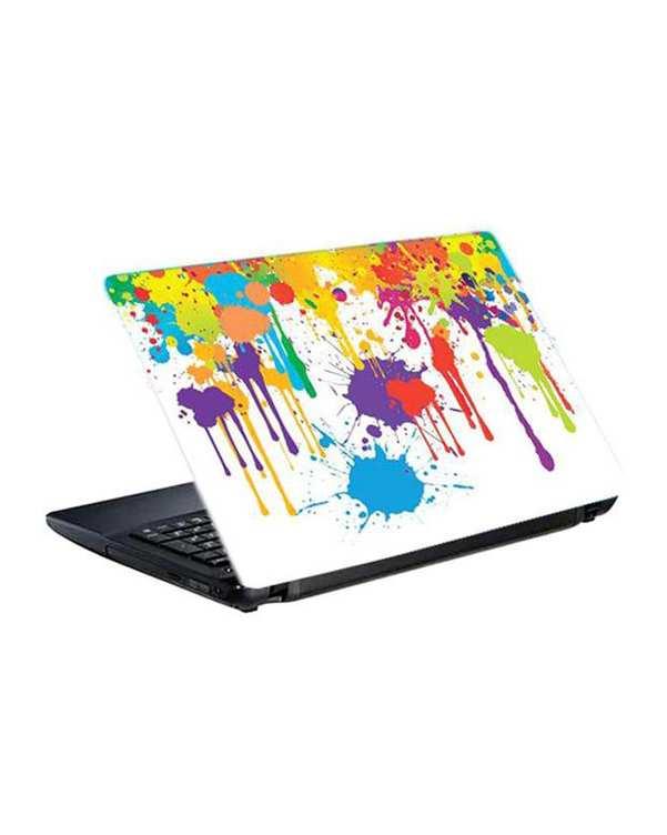 اسکین لپ تاپ لکه رنگ