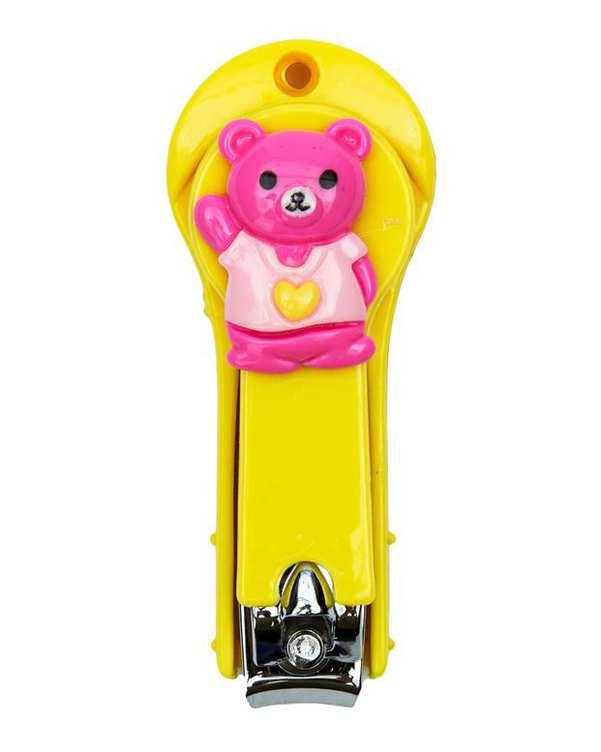 ناخن گیر فانتزی کودک طرح خرس زرد