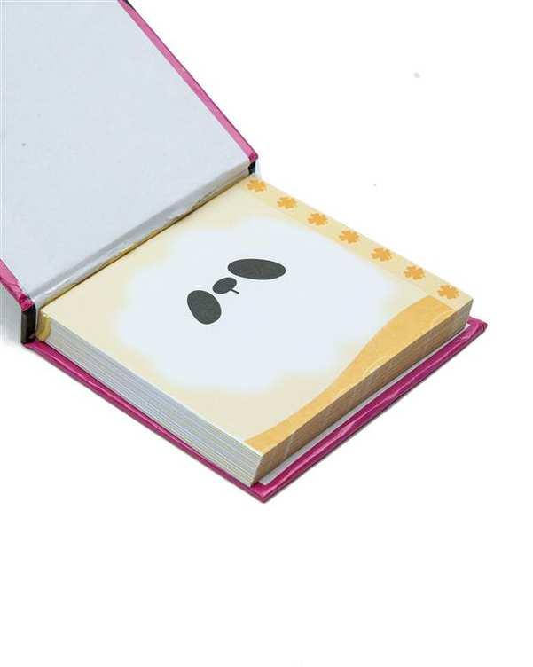 دفترچه یادداشت طرح خرس 8*8 سانتی