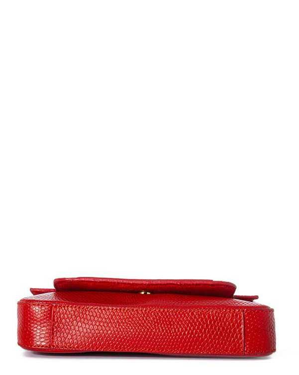 کیف چرم زنانه دوشی قرمز اورِز