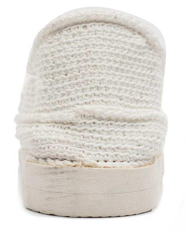 گیوه زنانه دستباف سفید واله