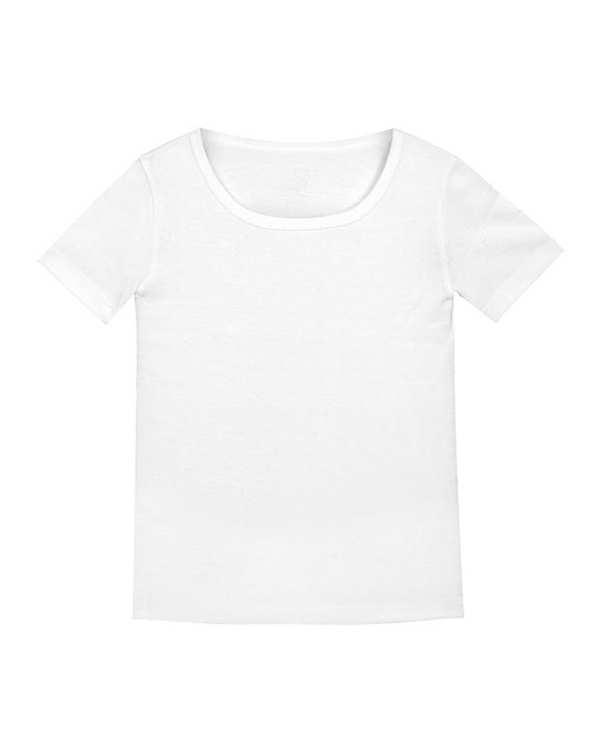 تی شرت پسرانه نخی سفید تانیش