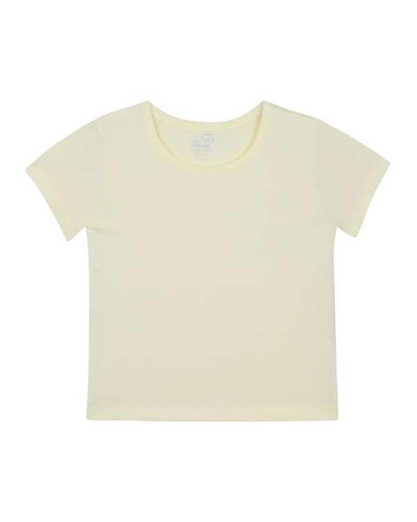 تی شرت پسرانه نخی لیمویی تانیش